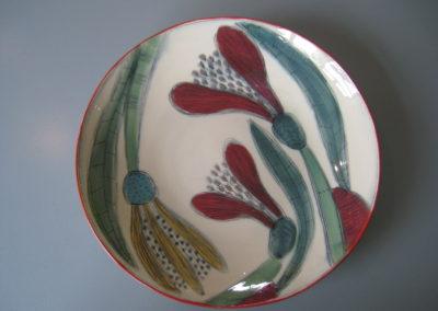Riitta lautanen kukat